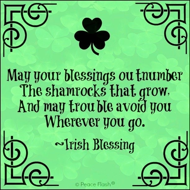 St. Patrick's Day Sayings Quotes
