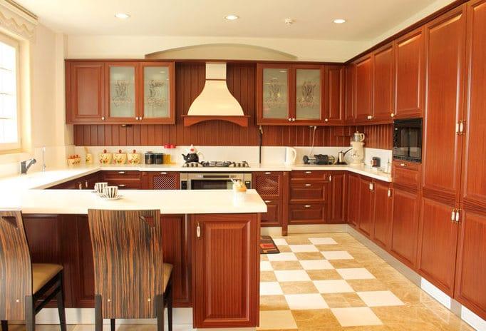 kitchen-cupboards layout
