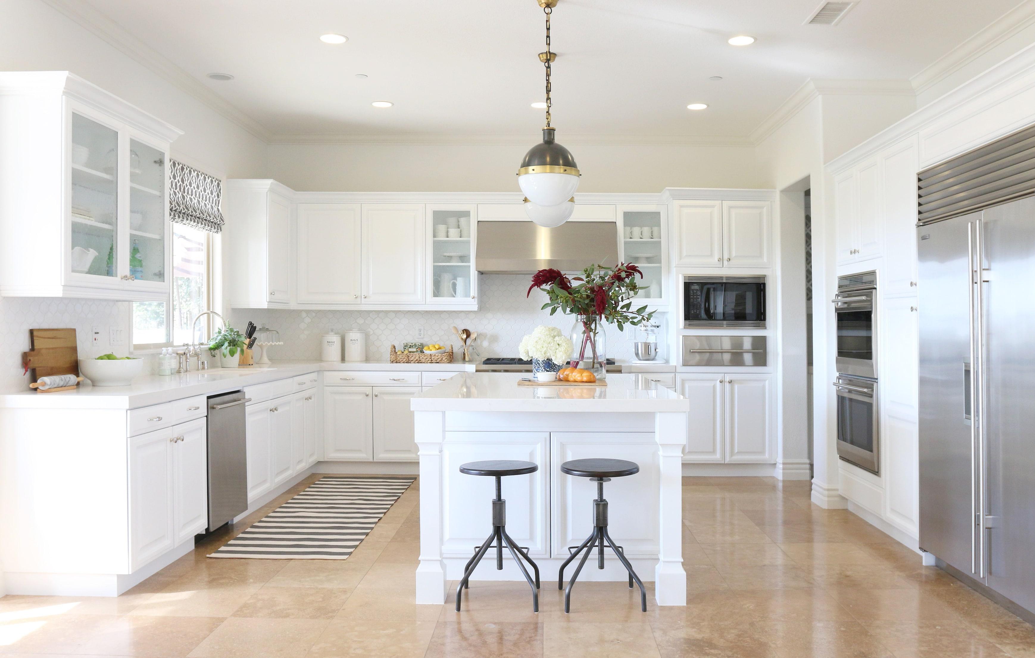 white kitchen cabinet image