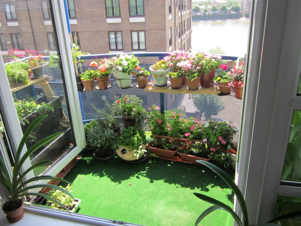 Amazing Balcony Garden Idea