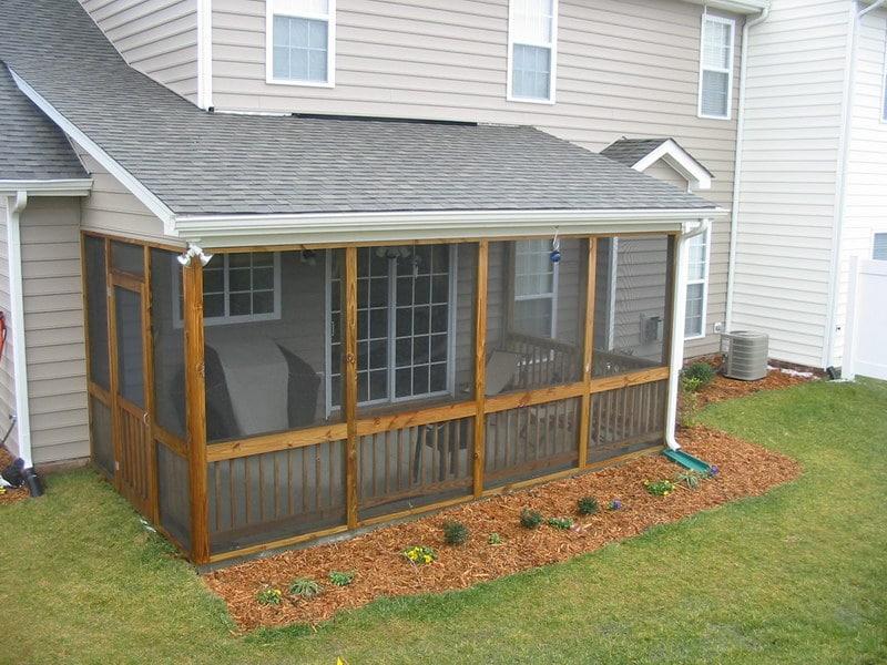 Amazing Covered Porch Idea