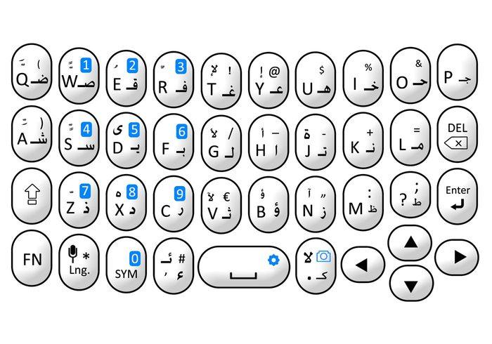 Arabic Keyboard Design