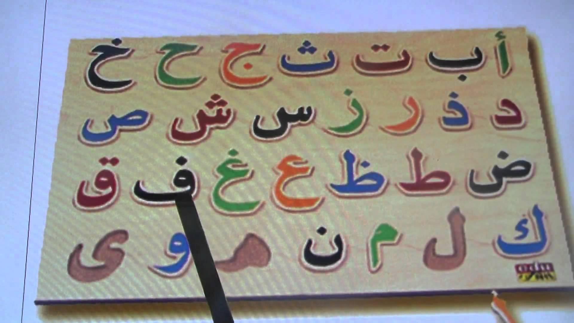Arabic abc Text