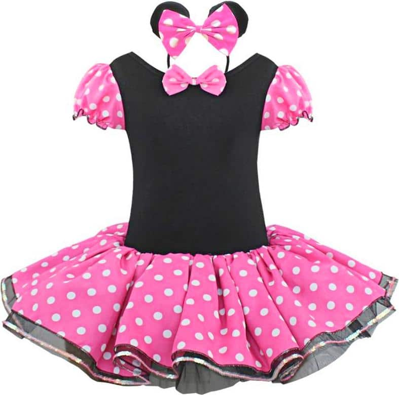 Beautiful Minnie Mouse Outfits for Toddlers