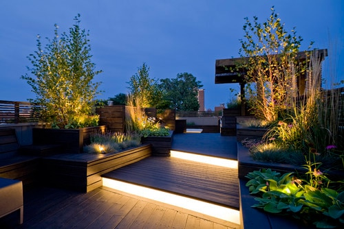 Beautiful Terrace Garden Design