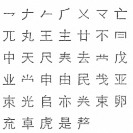 Chinese Script