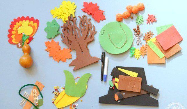 Colorful Kids Fun Craft
