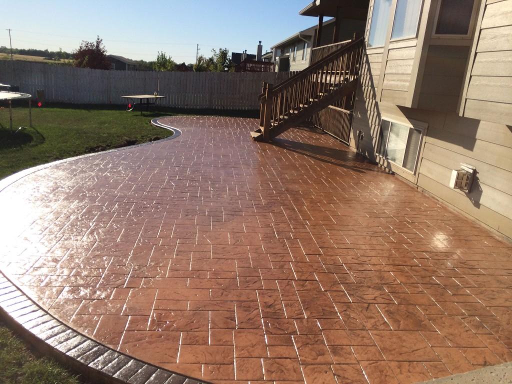 Concrete Patio Layout