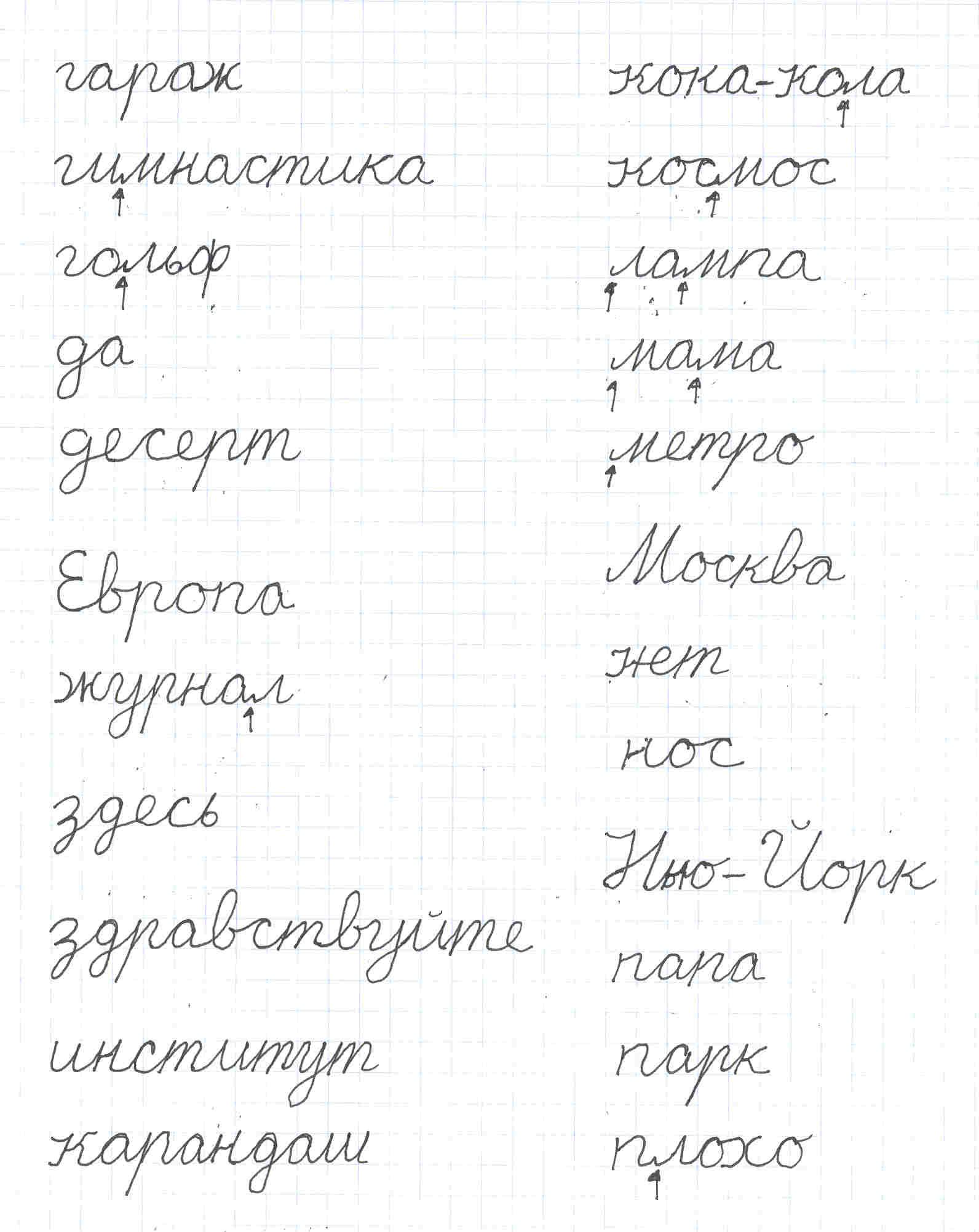 Cyrillic Cursive Font