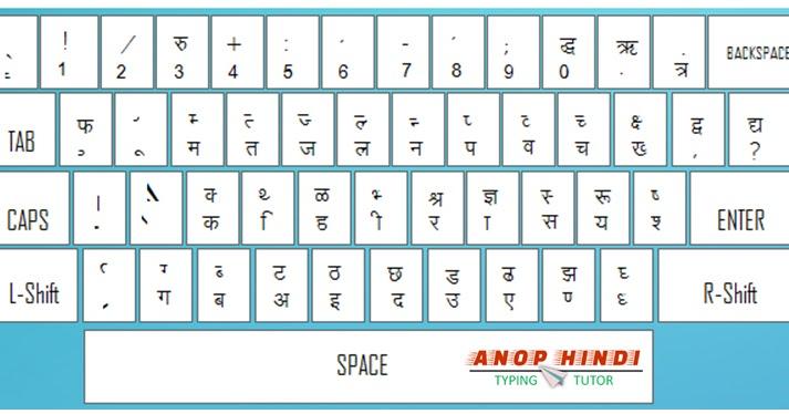 Devanagari Script Keyboard