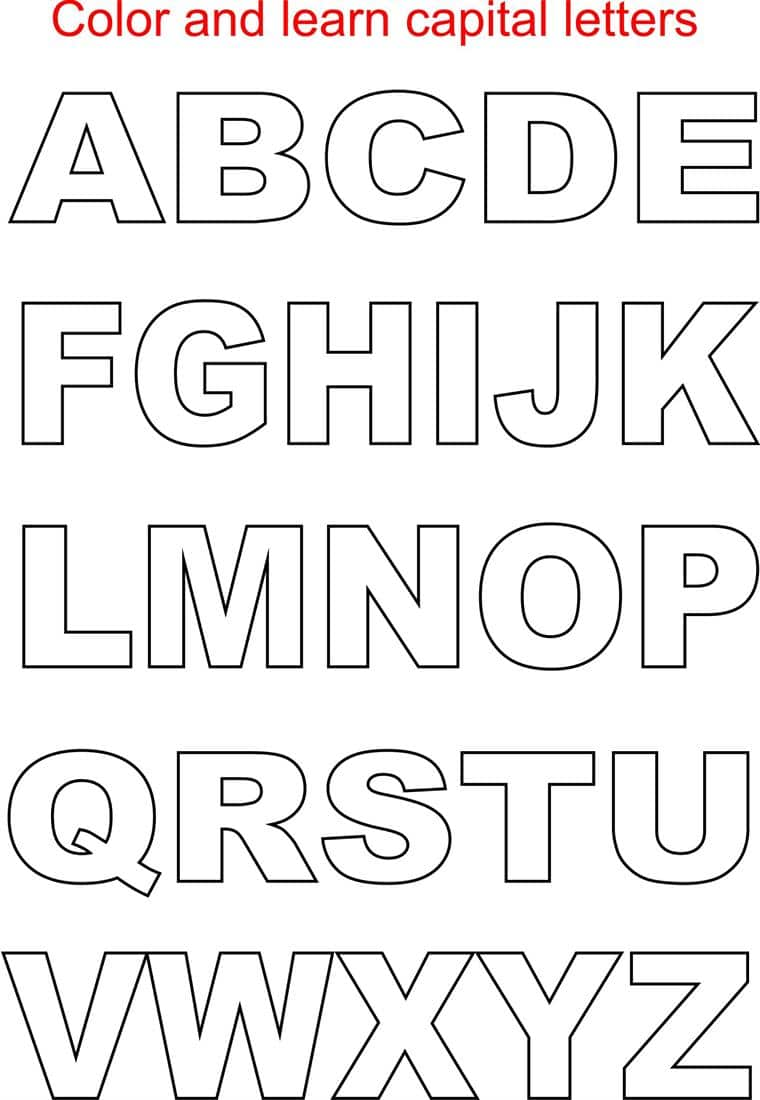 Download Alphabet Letters