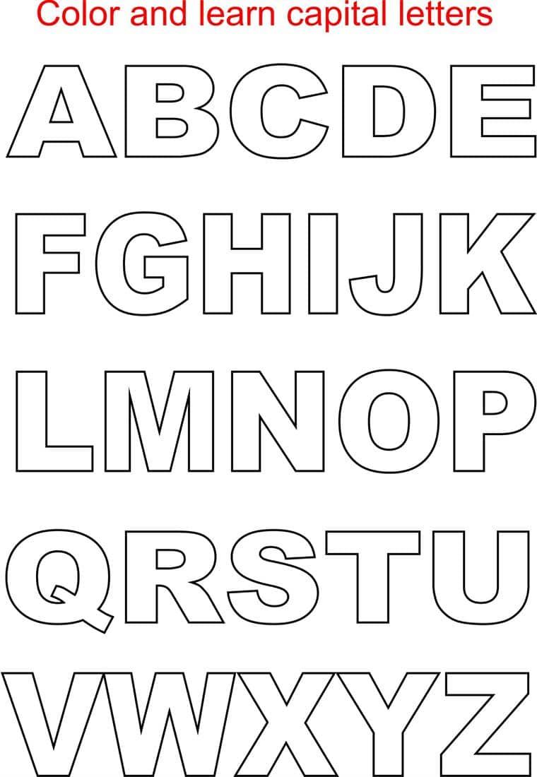 Download Alphabet Letters