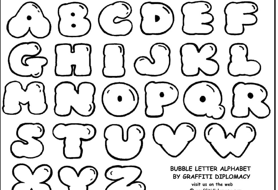 Download Graffiti Letters Chart