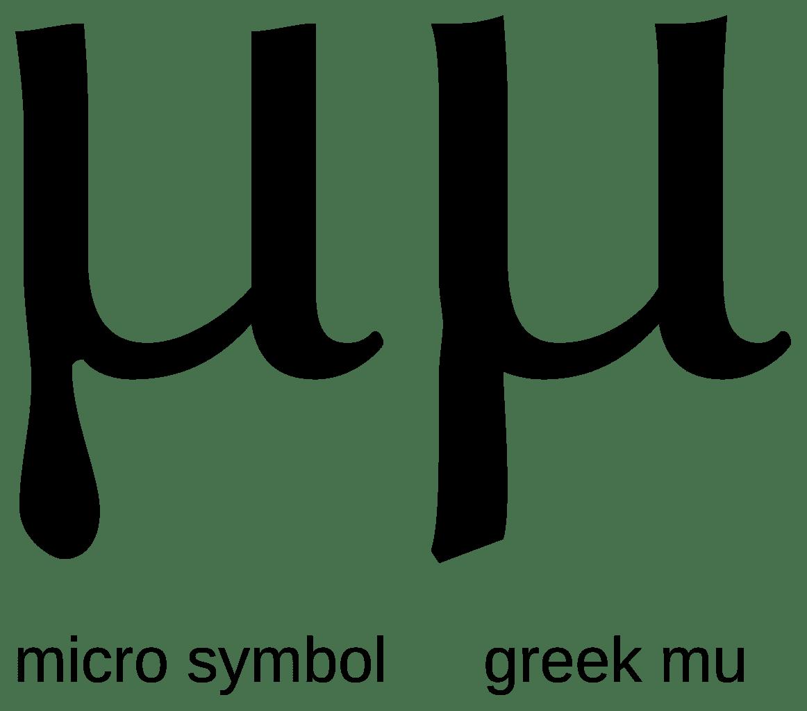Download Greek Letter m Image