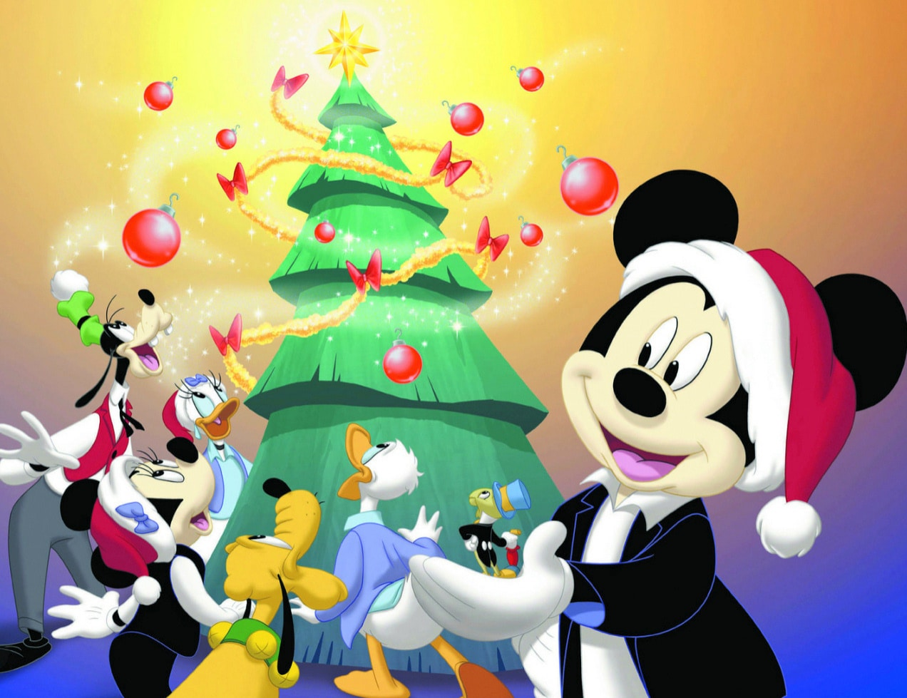 Download Mickey Mouse Christmas Photo