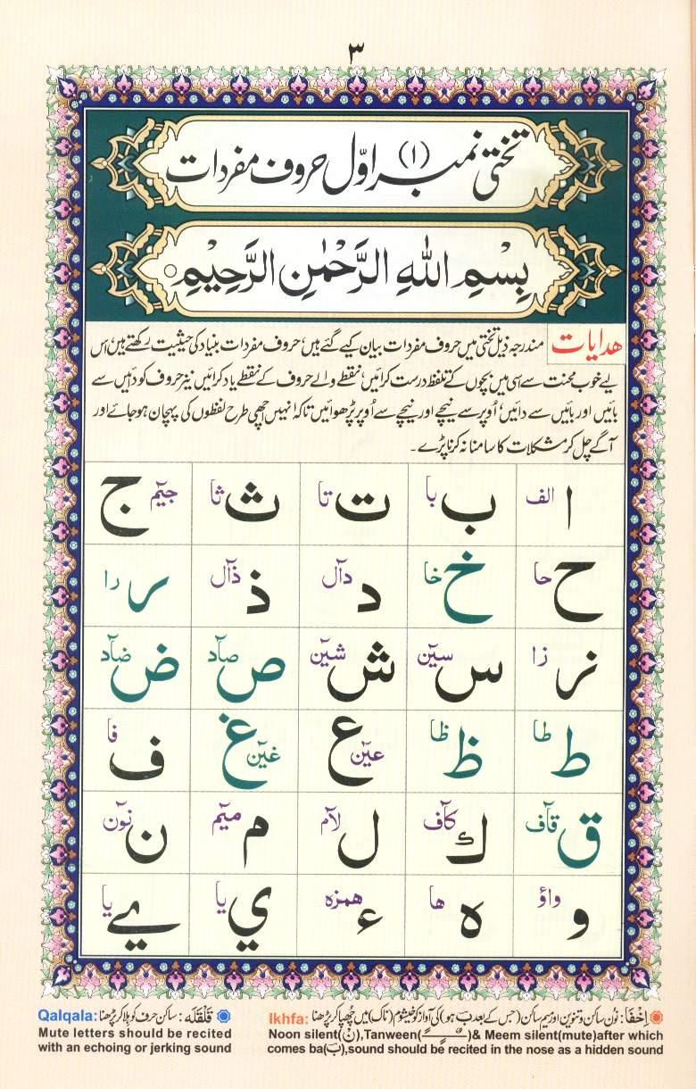 Quran Letters