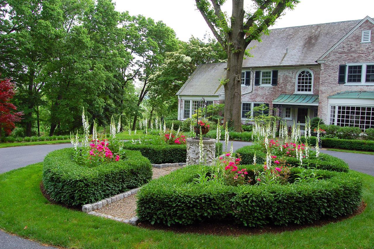 Driveway landscaping Design