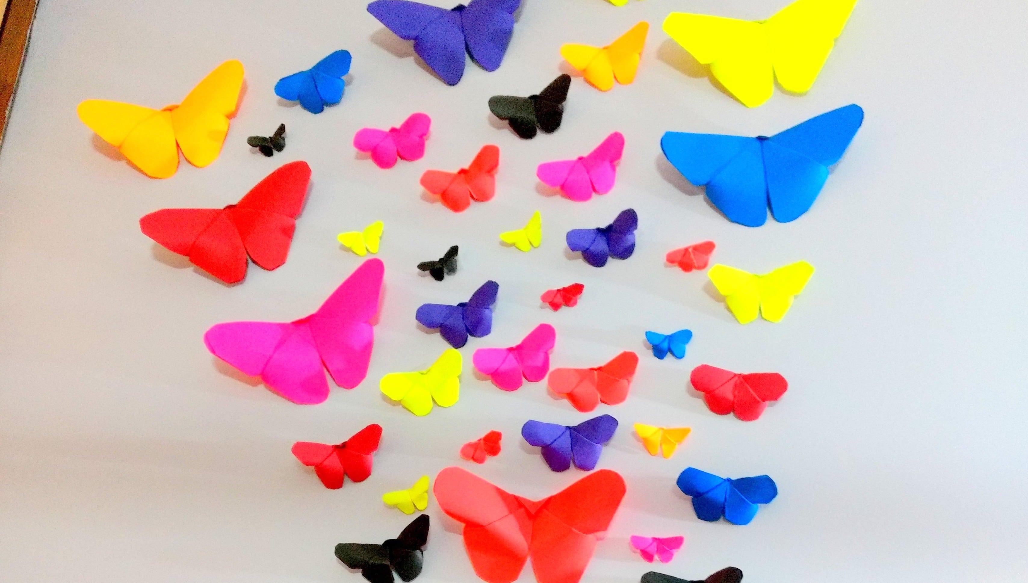 Beautiful Butterfly Wall Decor Idea