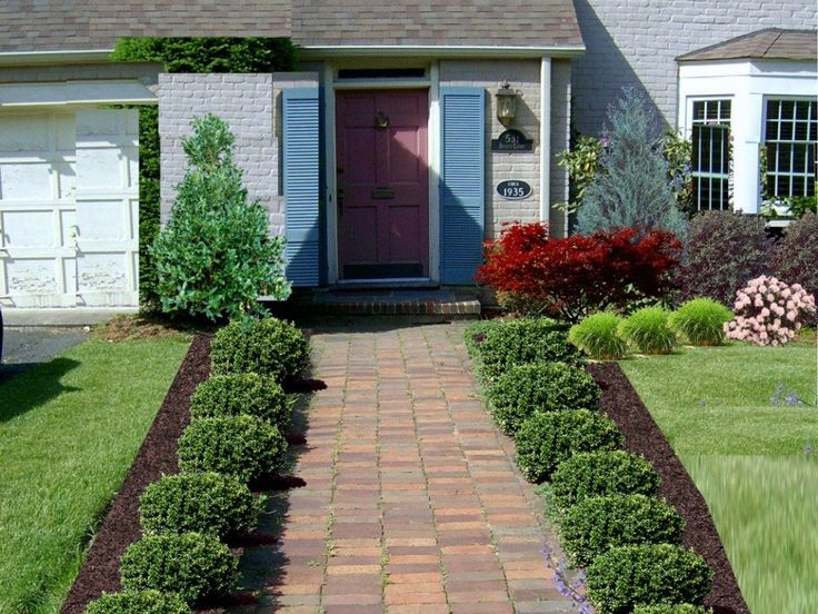 Free Front Yard Landscaping Idea