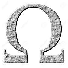 Free Omega Greek Letter Image