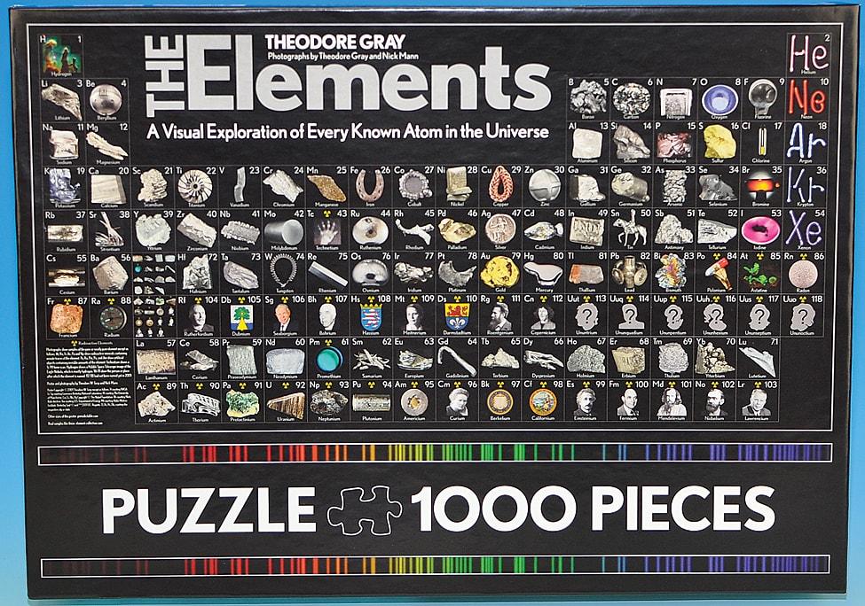 Free Periodic Table Puzzle Idea