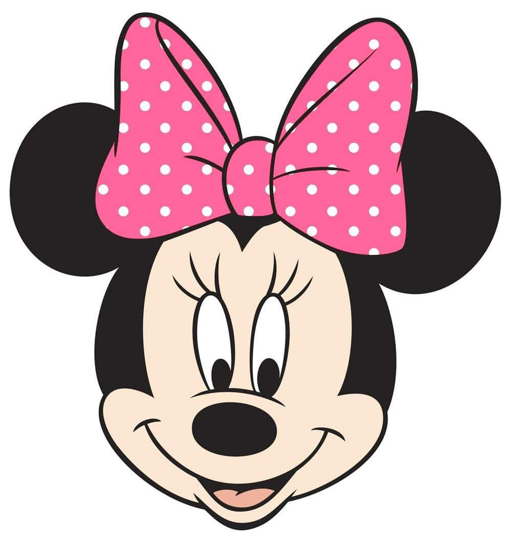 Minnie Mouse Face Drawing