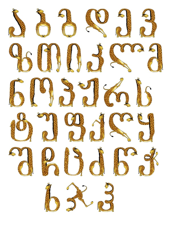 Georgian Letters Format