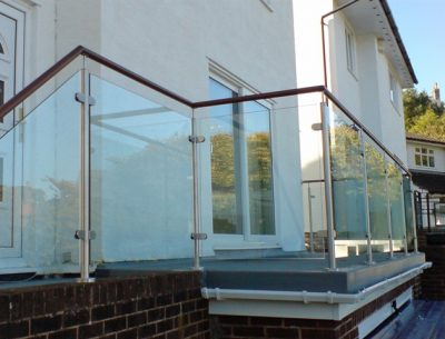 Glass Balcony Design