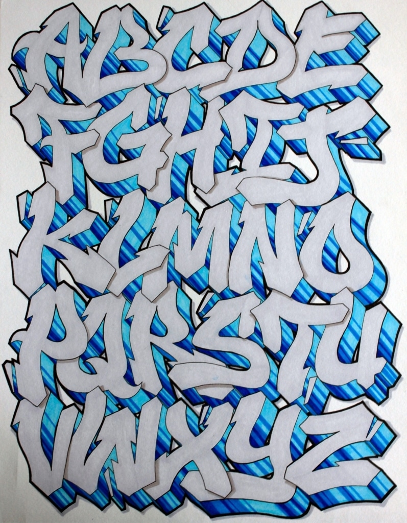 Graffiti Letters Design