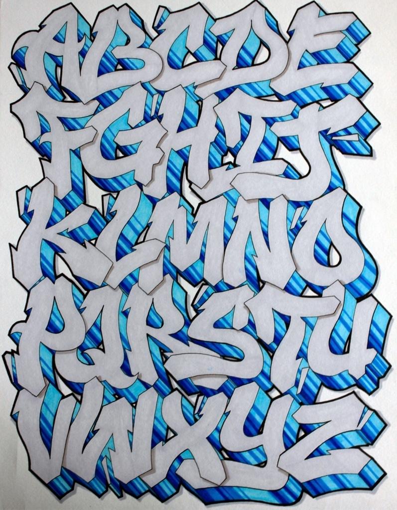 Graffiti Letters Design