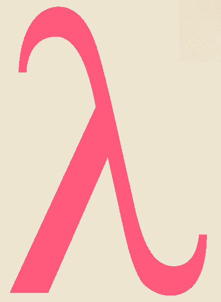 Greek Letter Lambda Picture