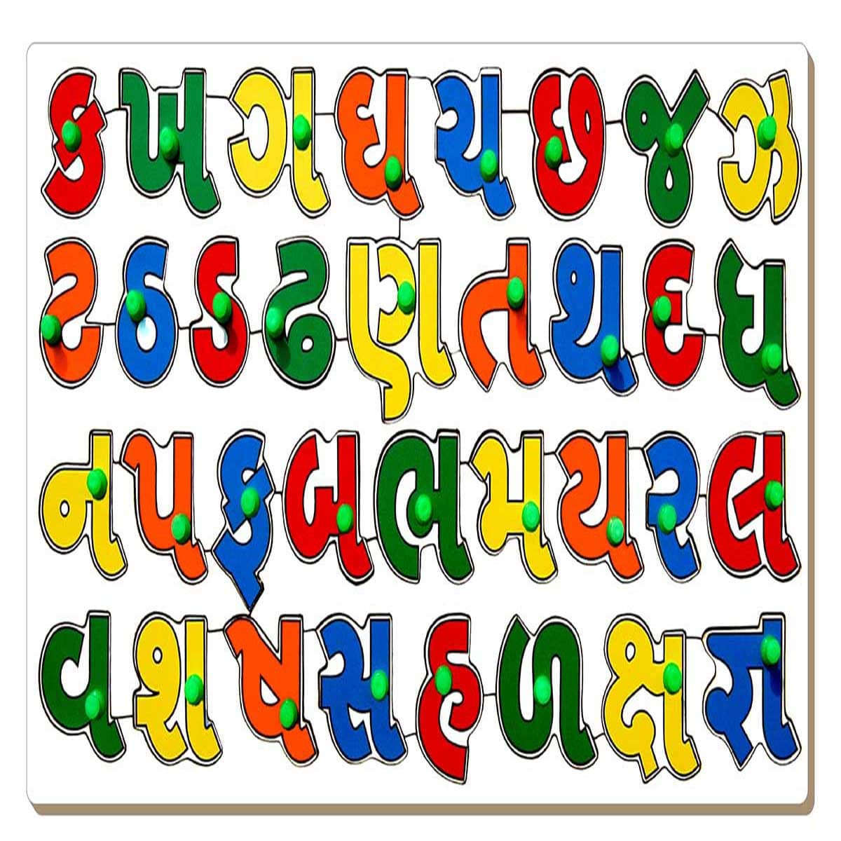 Gujarati Alphabet Image