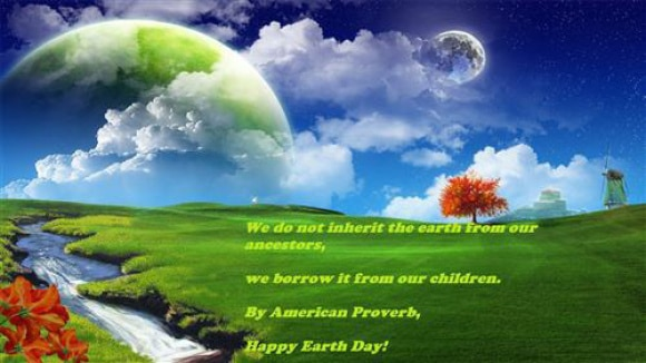 HD Images of Earth Day Message