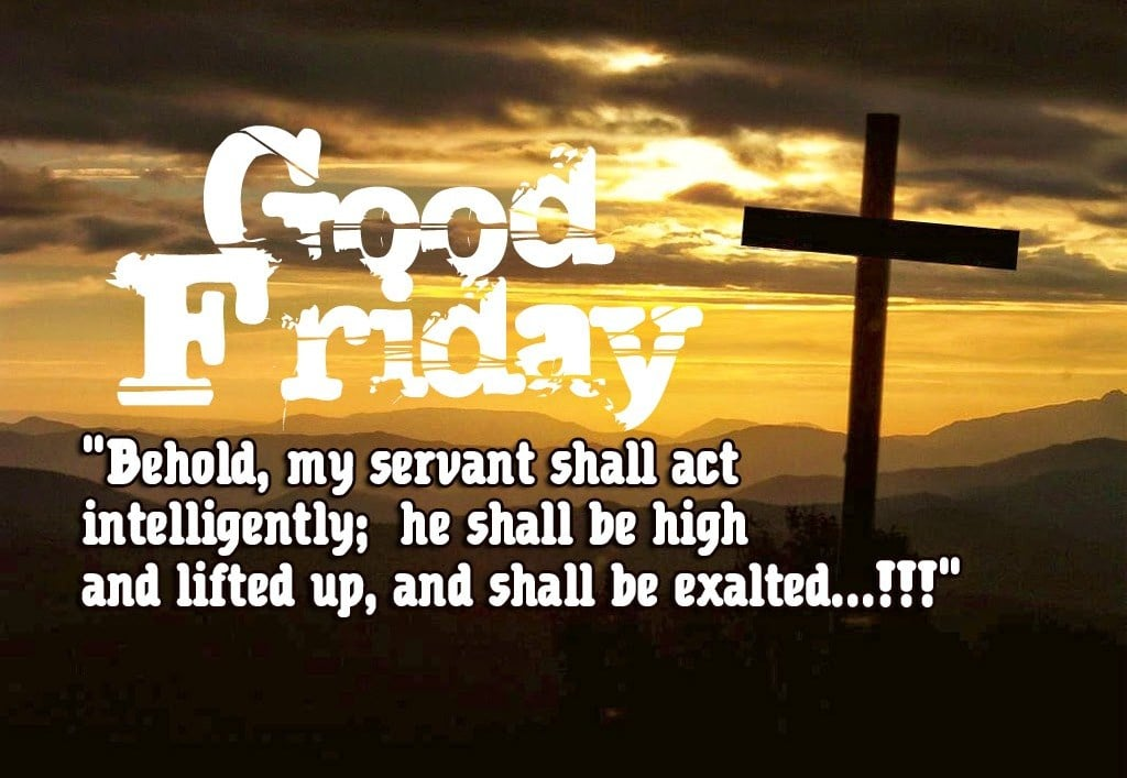 HD Images of Good Friday SMS