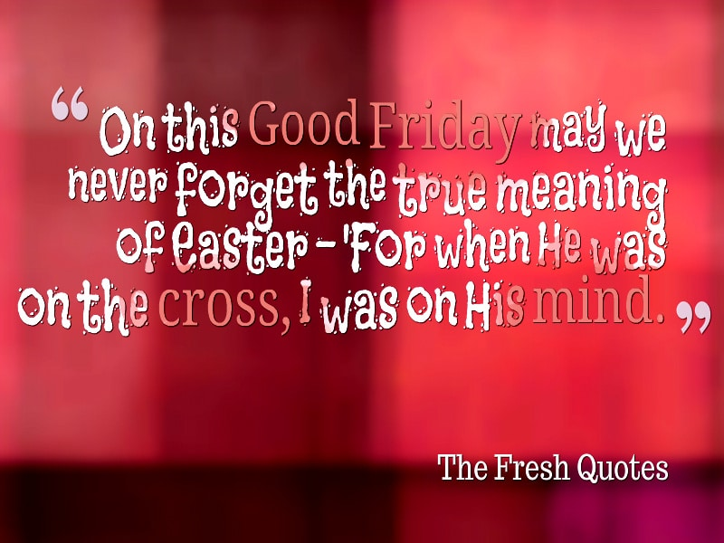 Happy Good Friday meme