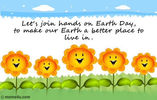 Images of Earth Day 2017 Message