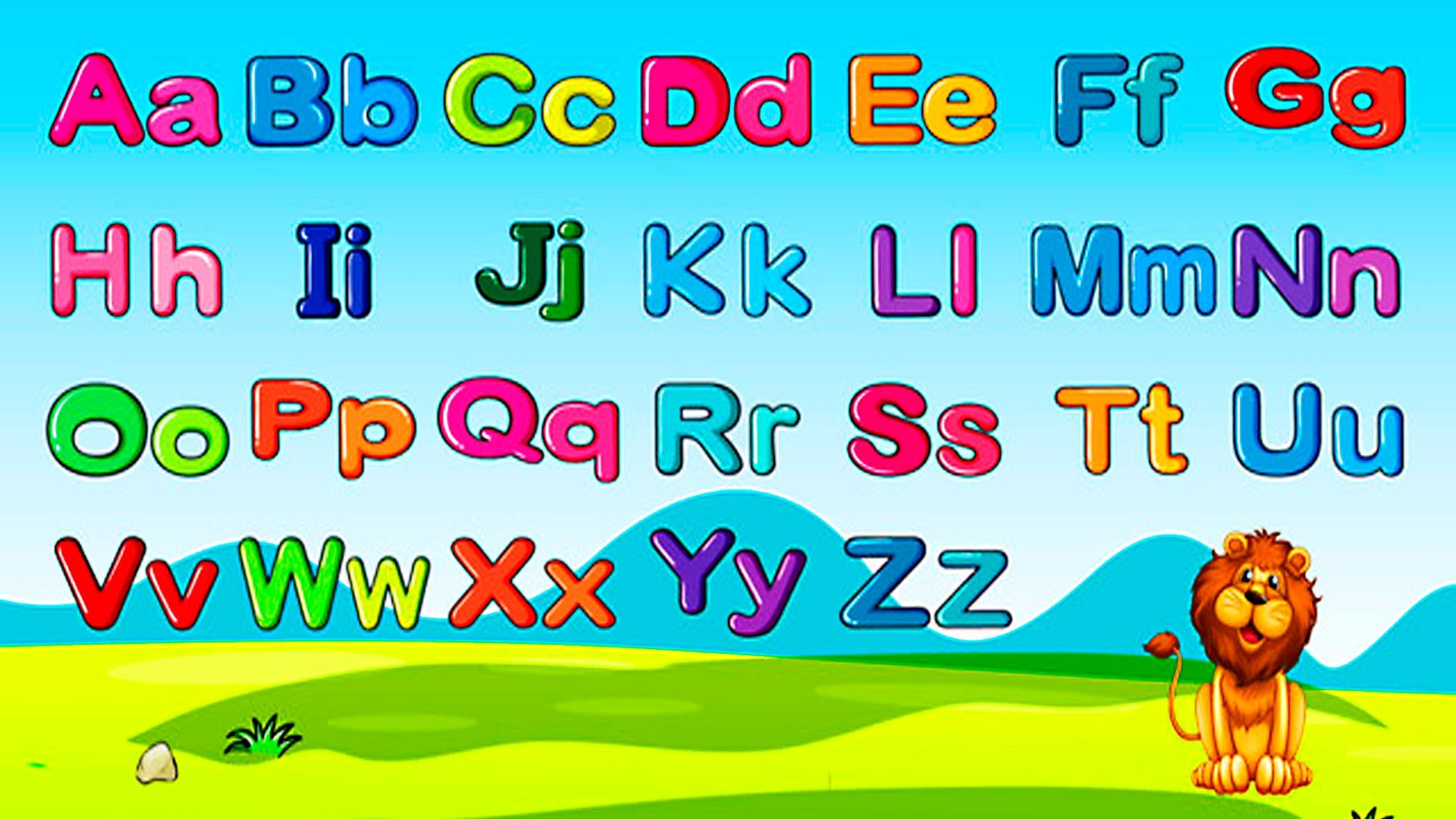 Kids English Alphabet