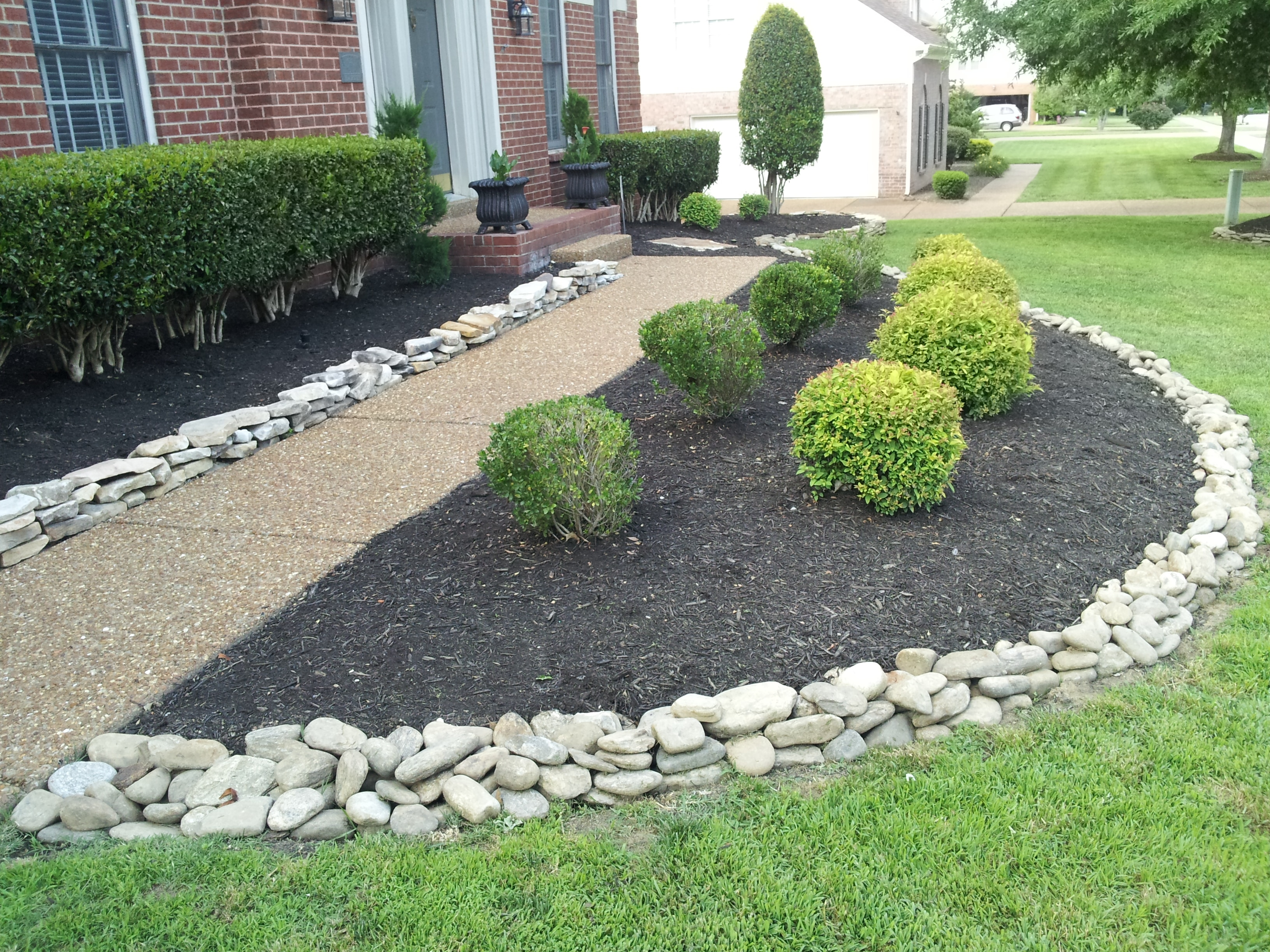 Landscaping Brick Idea