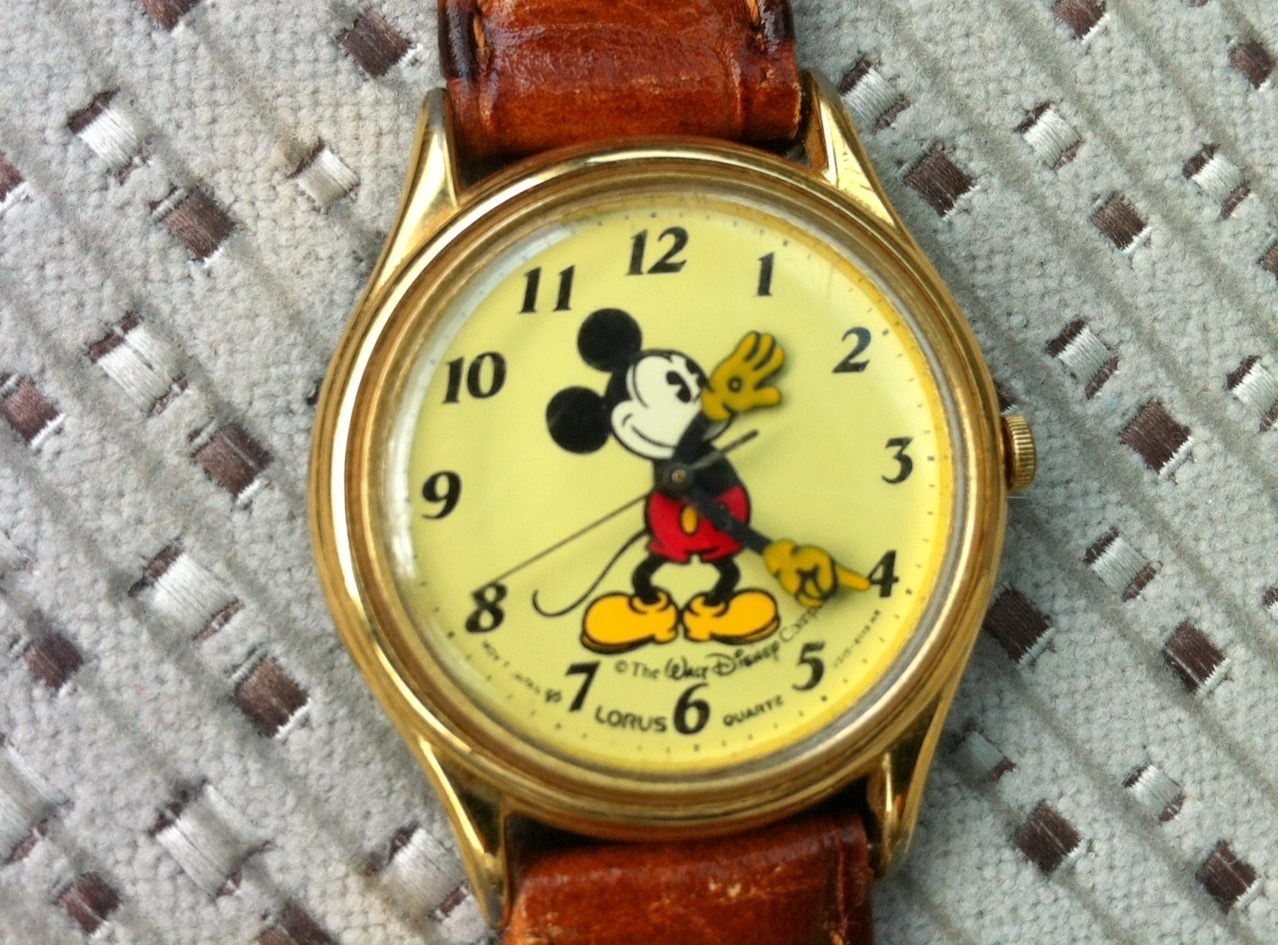 Mickey Mouse Watch Design
