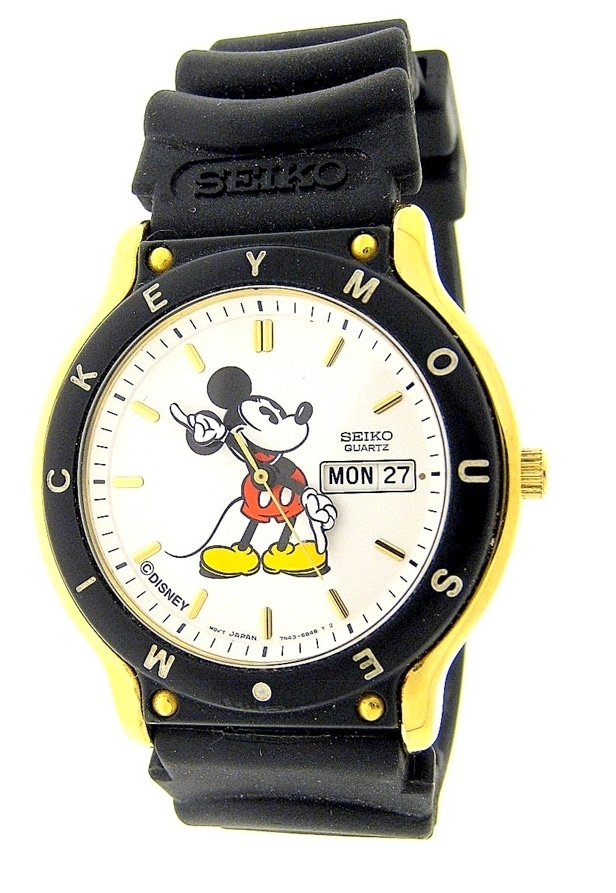 Mickey Mouse Watch Image