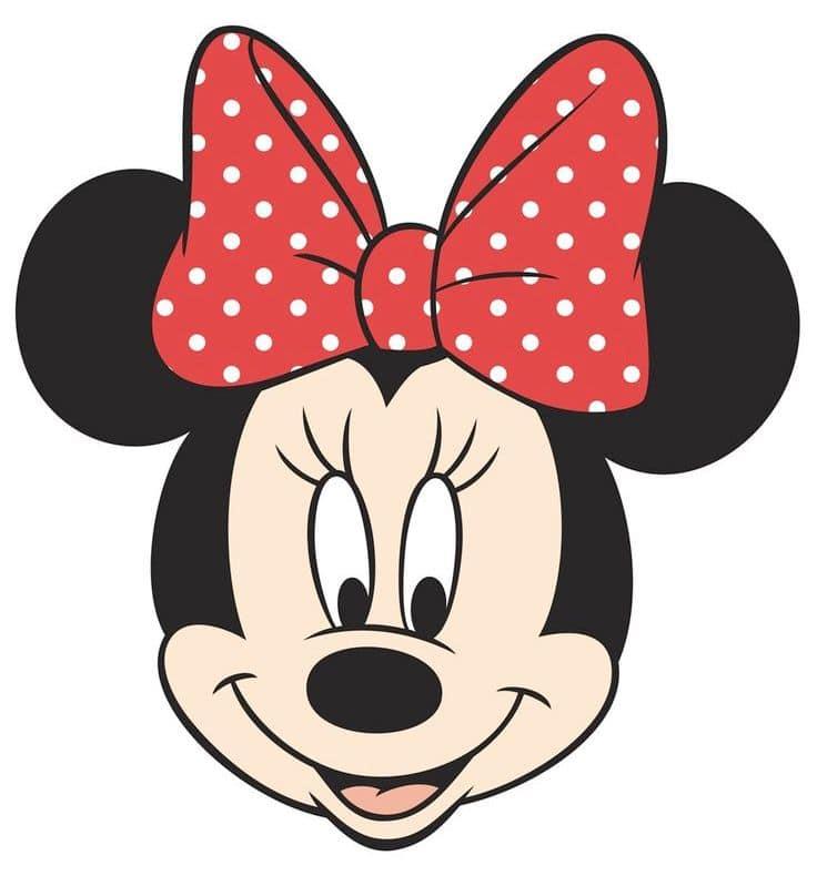 Minnie Mouse Face Design