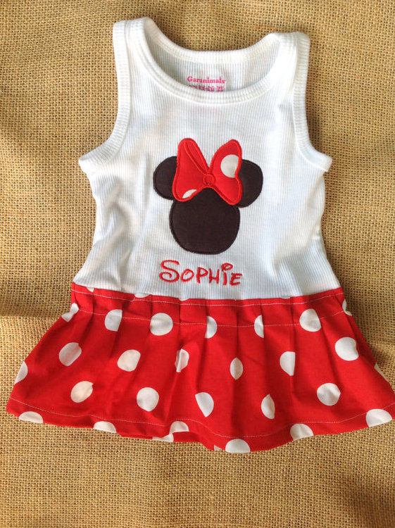 Minnie Mouse Party Outfits for Toddlers