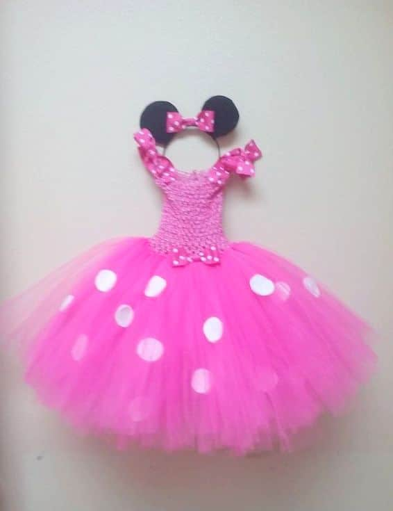 Minnie Mouse Pink Outfit for Toddlers