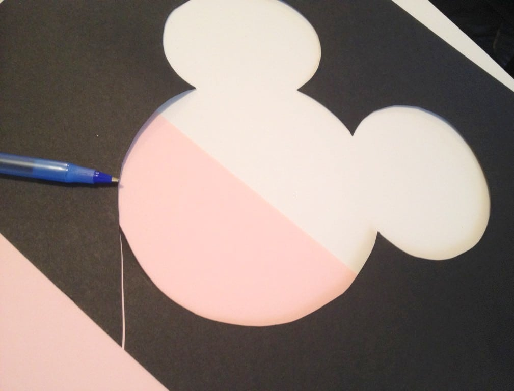 Minnie Mouse Shoes Design