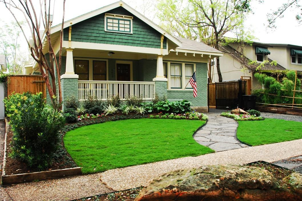New Front Yard Landscaping Idea