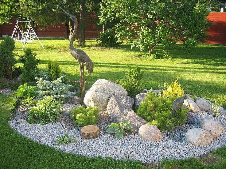 New Home Garden Design