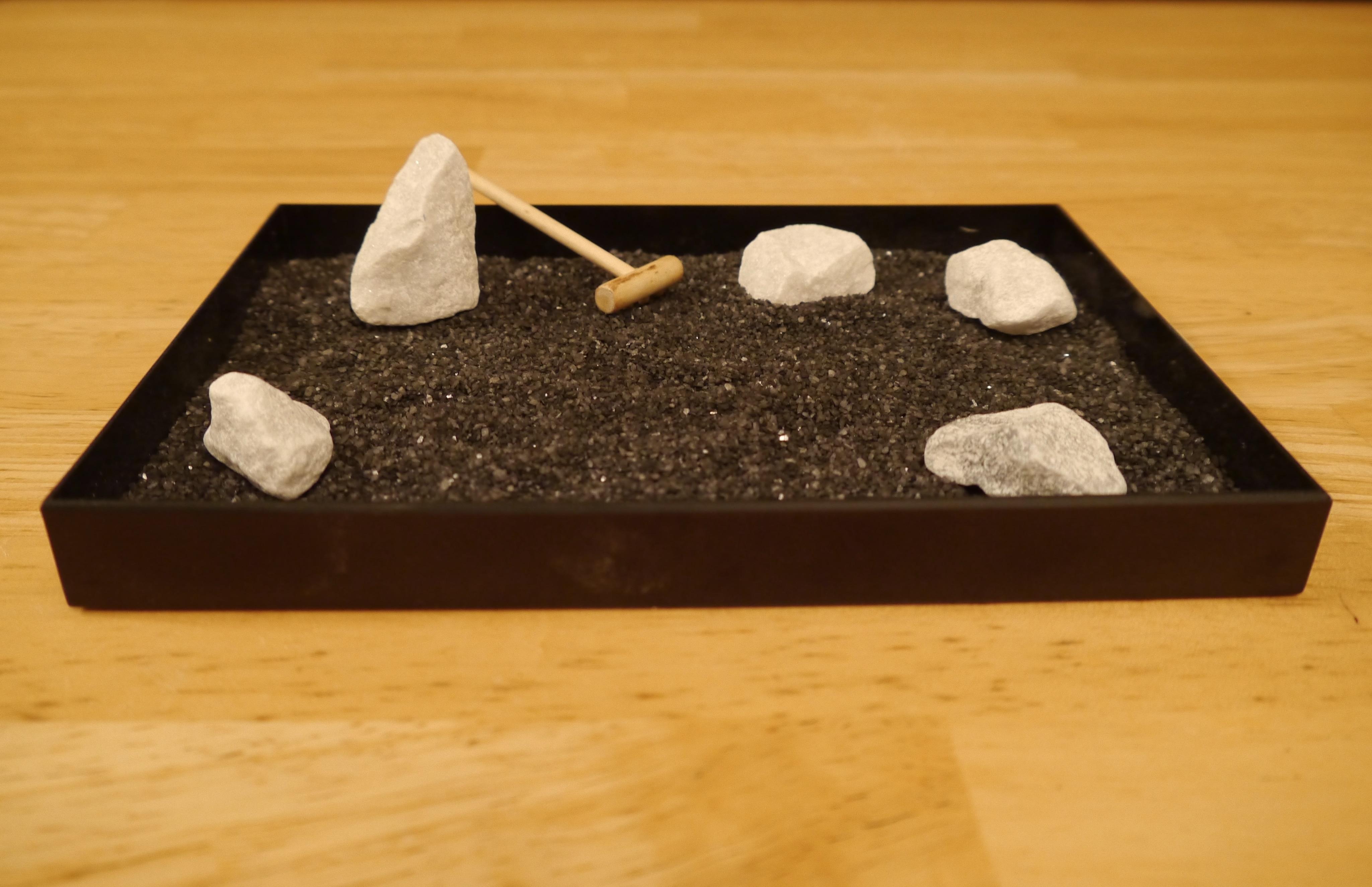 New Mini Zen Garden