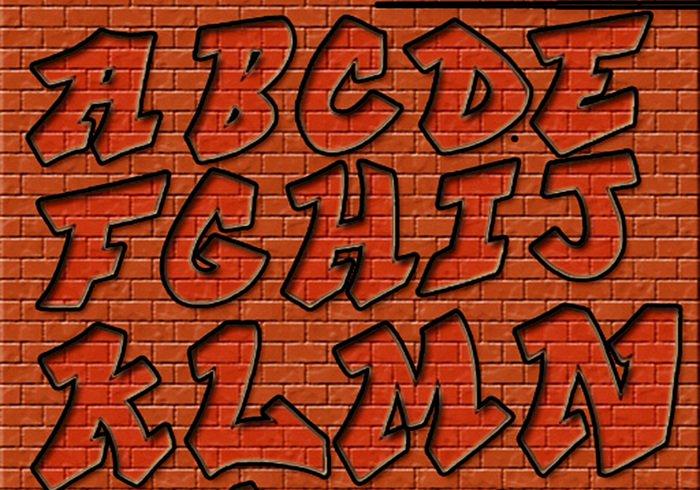 Online Graffiti Letters