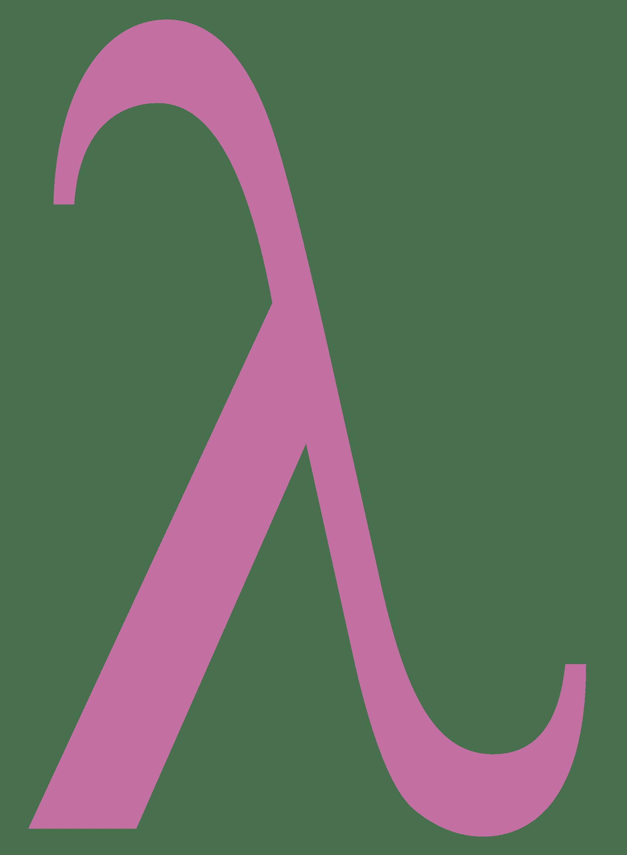 Online Greek Letter Lambda Symbol