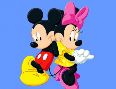 Online Mickey And Minnie Image